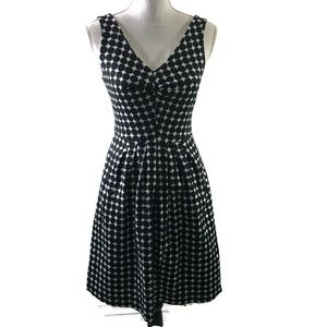 Banana Republic Marimekko Polka Dot 0 Linen Dress